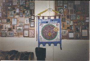 Estandarte do Jaragu+í Mulungu no Brincante - SP - 2002 001