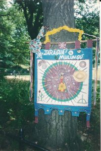 Estandarte do Jaragu+í Mulungu no Central Park 2002 - NYC 001