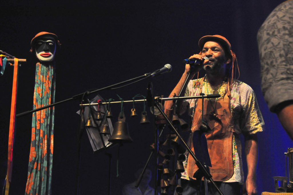 Juraguá Mulungu, na Fundação Progresso - RJ / Fotos: Mariza Lima