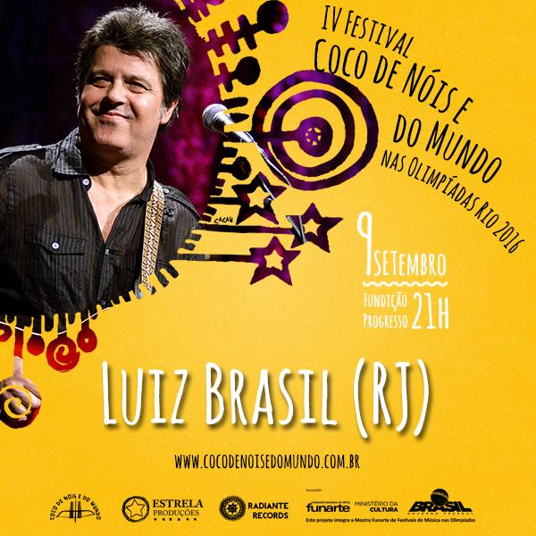 Card Luiz Brasil - FUNDIÇÃO PROGRESSO - RJ 2016